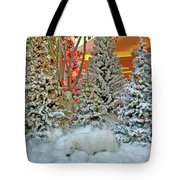 A Polar Bear Christmas Tote Bag