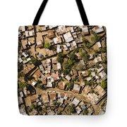 A Poor Neighborhood In Urban Maputo Tote Bag