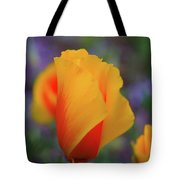 A Poppy Furled  Tote Bag