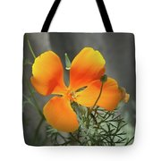 A Poppy Unfurled  Tote Bag