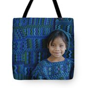 A Portrait Of A Guatemalan Girl Tote Bag