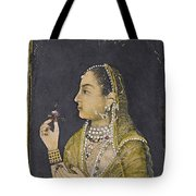 A Portrait Of Jahanara Begum Tote Bag