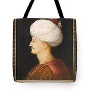 A Portrait Of Suleyman Tote Bag