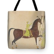 A Portrait Of The Royal Stallion Tote Bag