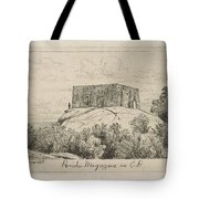 A Powder Magazine In Central Park From Scenes Of Old New York, By Henry Farrer, 1844-1903 Tote Bag