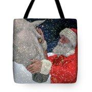 A Present For Santa Tote Bag
