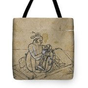 A Prince With His Mistress Tote Bag