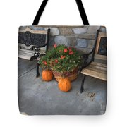 A Promise Of An Amish Harvest Tote Bag