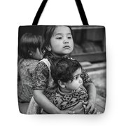 A Proud Sister Bw Tote Bag