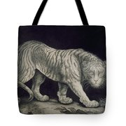 A Prowling Tiger Tote Bag