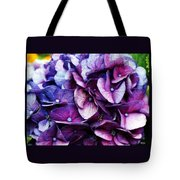 A Puff Of Purple Tote Bag