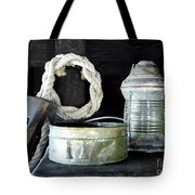 A Pulley And A Lamp Tote Bag