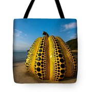 The Pumpkin Of Naoshima Tote Bag