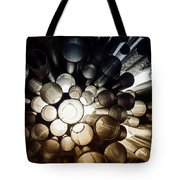 A Question Of Perspective On Sibelius Monument Tote Bag