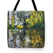 A Quiet Afternoon Reflection Tote Bag