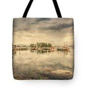 A Quiet Little Harbor Tote Bag
