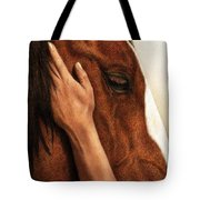 A Quiet Moment Tote Bag by Pat Erickson