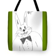 A Rabbit. Tote Bag