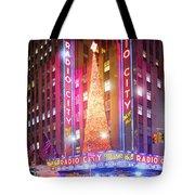 A Radio City Music Hall Christmas Tote Bag