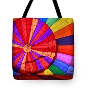 Temecula, Ca - A Rainbow Of Colors Tote Bag