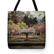 A Rainy Day In Magnolia Season Tote Bag