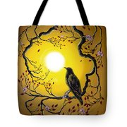 A Raven Remembers Spring Tote Bag