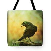 A Ravens Poise Tote Bag