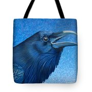 A Raven's Prayer Tote Bag