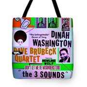 A Rebooted Music Poster Tote Bag