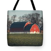 A Red Barn Tote Bag