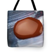 A Red Blot Tote Bag