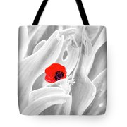 A Red Dot Tote Bag