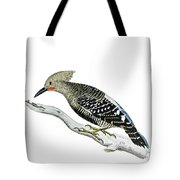 A Red Headed Woodpecker 2 Tote Bag