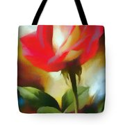 A Red Rose For Amelia Tote Bag
