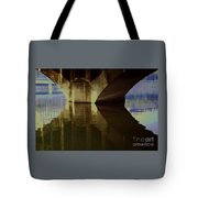 A Reflective Moment In Lyon Tote Bag