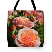 A Regiment Of Roses Tote Bag