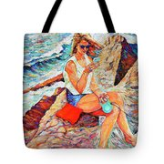 A Relaxing Moment Tote Bag