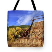 A Reminder Of The Past Tote Bag
