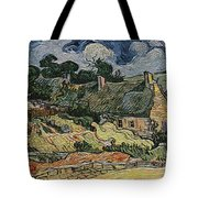 a replica of the landscape of Van Gogh Tote Bag