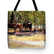 A Rest By The River Tote Bag