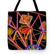 A Ride In The Carousel Tote Bag