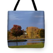 A Ring Of Water Tote Bag