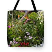 A Riot Of Flowers Tote Bag