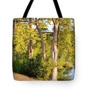 A River Walk Tote Bag