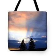 A Riveting Sky Tote Bag