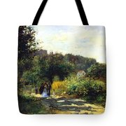 A Road In Louveciennes Tote Bag