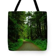 A Road Through The Forest Tote Bag