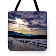 A Road To The Future Tote Bag