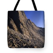 A Rock Face On Cloud Peak In The Big Tote Bag