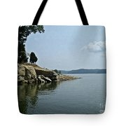 A Rocky Point - Monroe Lake Tote Bag